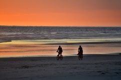 Fridsam tid Playa El Espino Royaltyfria Foton