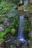 Fridsam vattenfall Royaltyfri Foto
