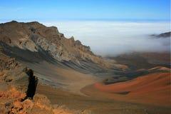 Fridsam vulkan Arkivbild