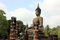 Fridsamma Buddha fotografering för bildbyråer