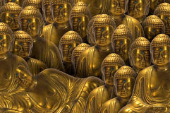 fridsamma buddha Royaltyfri Bild