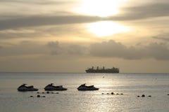fridsamt hav Arkivfoton