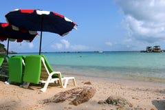 fridsamt hav för härlig stol fotografering för bildbyråer