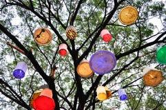 Fridsamt träd Arkivbild