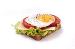 Free Fried Agg On Toast Stock Image - 27908561