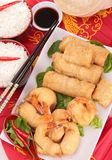 Fried asia food Royalty Free Stock Images