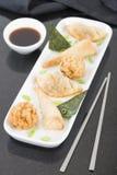 Fried Asian Snacks Stock Image