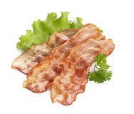 Fried bacon Stock Images