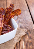 Fried Bacon Stock Photos