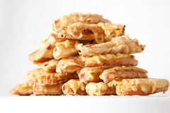 Fried Bananas. A very popular Malay/ Malaysian/ Asian snacks usually served at tea time or morning breakfast Stock Photos