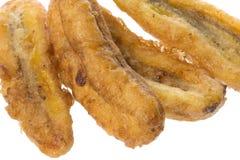 Fried Bananas Isolated Royalty Free Stock Photography