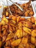 Fried Bananas-Platanos Machos Royalty Free Stock Images