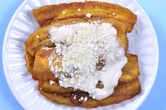 Fried bananas Royalty Free Stock Photo