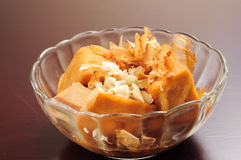 Fried bean curd Stock Images