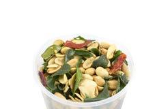 Fried Beans picante com ervas Imagens de Stock