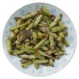 Fried beans Stock Photos