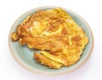 Fried beaten egg Royalty Free Stock Photography
