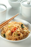 Fried bee hoon Stock Image