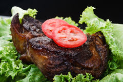 Fried beef Stock Photos