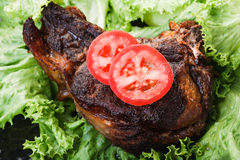 Fried beef Royalty Free Stock Images