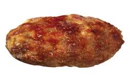 Fried Beef Patty royaltyfria bilder