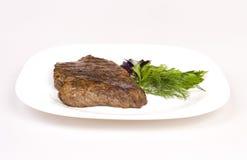 Fried beef steak Royalty Free Stock Image
