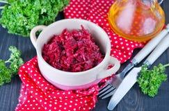 Fried beet Royalty Free Stock Photo