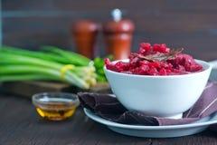 Fried beet Royalty Free Stock Image