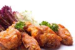 Fried bird in sour sweet sauce Royalty Free Stock Image