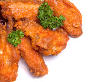 Fried bird in sour sweet sauce Stock Image