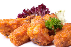 Fried bird in sour sweet sauce Stock Photo