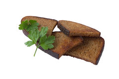 Fried bread Stock Photography