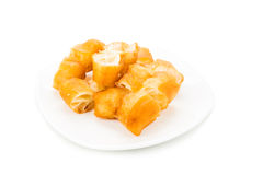 Fried bread stick or popularly known as You Tiao, a popular Chin Stock Photo
