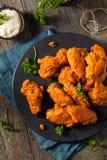 Fried Breaded Chicken Wings profundo picante Imagen de archivo libre de regalías