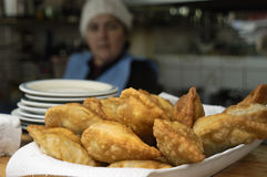 Fried Breaded Stock Photography