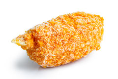 Fried breaded surimi crab claws. Stock Photography
