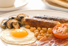 Fried Breakfast Stock Image