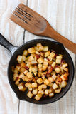 Fried Breakfast Potatoes Royalty Free Stock Photography
