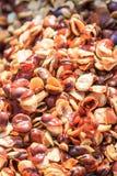 Fried broad bean or Vicia faba Stock Photos