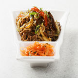 Fried buckwheat noodles Royalty Free Stock Photography