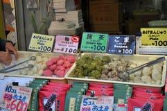 Fried Buns op Verkoop Stock Foto's