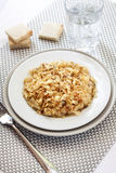 Fried cabbage with caraway and garlic Royalty Free Stock Photography