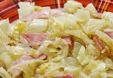 Fried Cabbage meridional fotografía de archivo