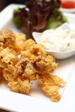 Fried calamari Stock Images