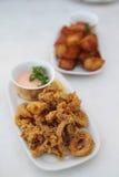 Fried Calamari Royalty Free Stock Image