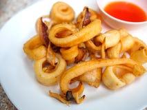Fried calamari Stock Image