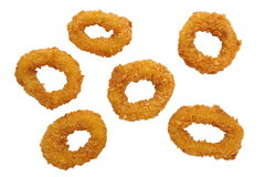 Fried calamari rings Royalty Free Stock Image