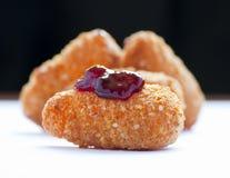 Fried camembert Stock Photos
