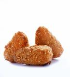 Fried camembert Stock Image