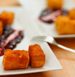 Fried Camembert Cheese Royalty Free Stock Photo